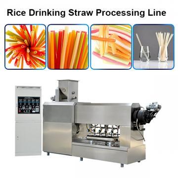 Factory Price Full Automatic Pasta Straw Machine/Macaroni Making Machine/Processing Line