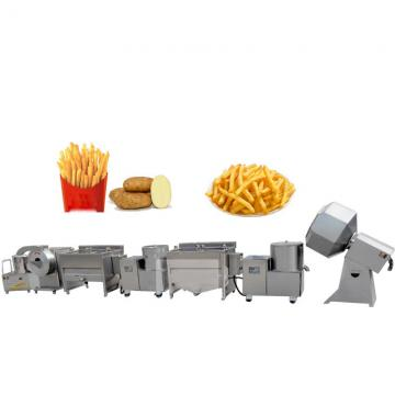 Industrial Automatic Frozen French Fries Potato Chips Food Machinery