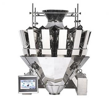 4 Head Mini Linear Weigher Machine Detergent Powder Packing Machine
