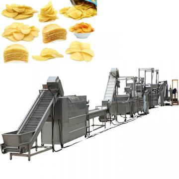 Industrial Automatic Potato Chips Washing Peeling Slicing Making Machines Production Line